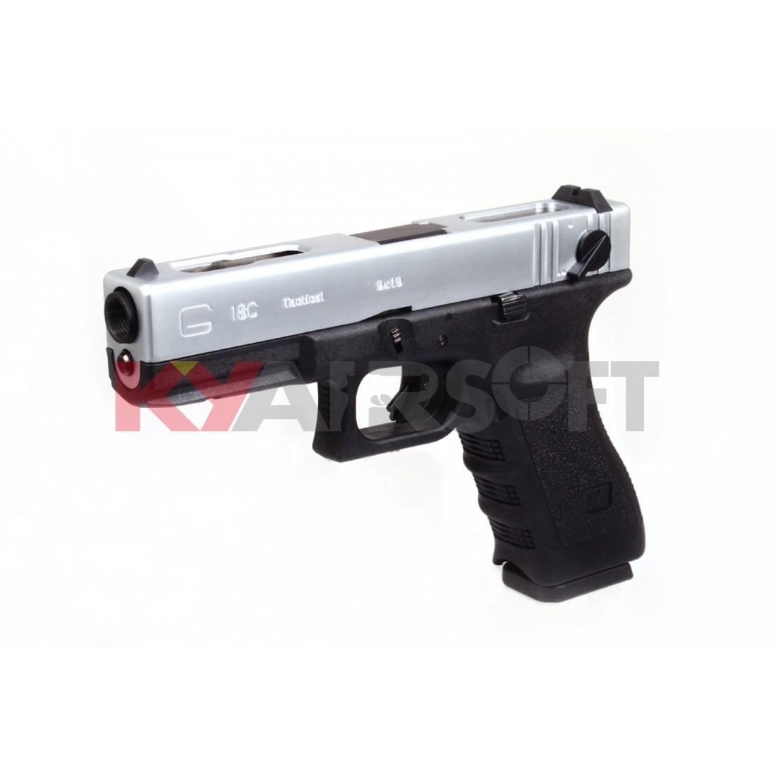 WE G18C GEN 3 SV - G18C - WE G Series (Glock) - WE Pistols (GBBP) - Guns