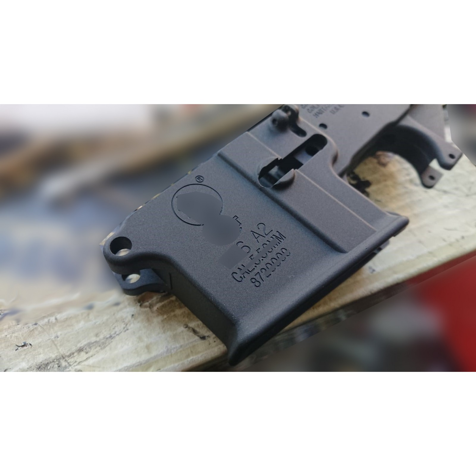 WE M4 GBB rifle lower body receiver #105 (M16 A2 marking)