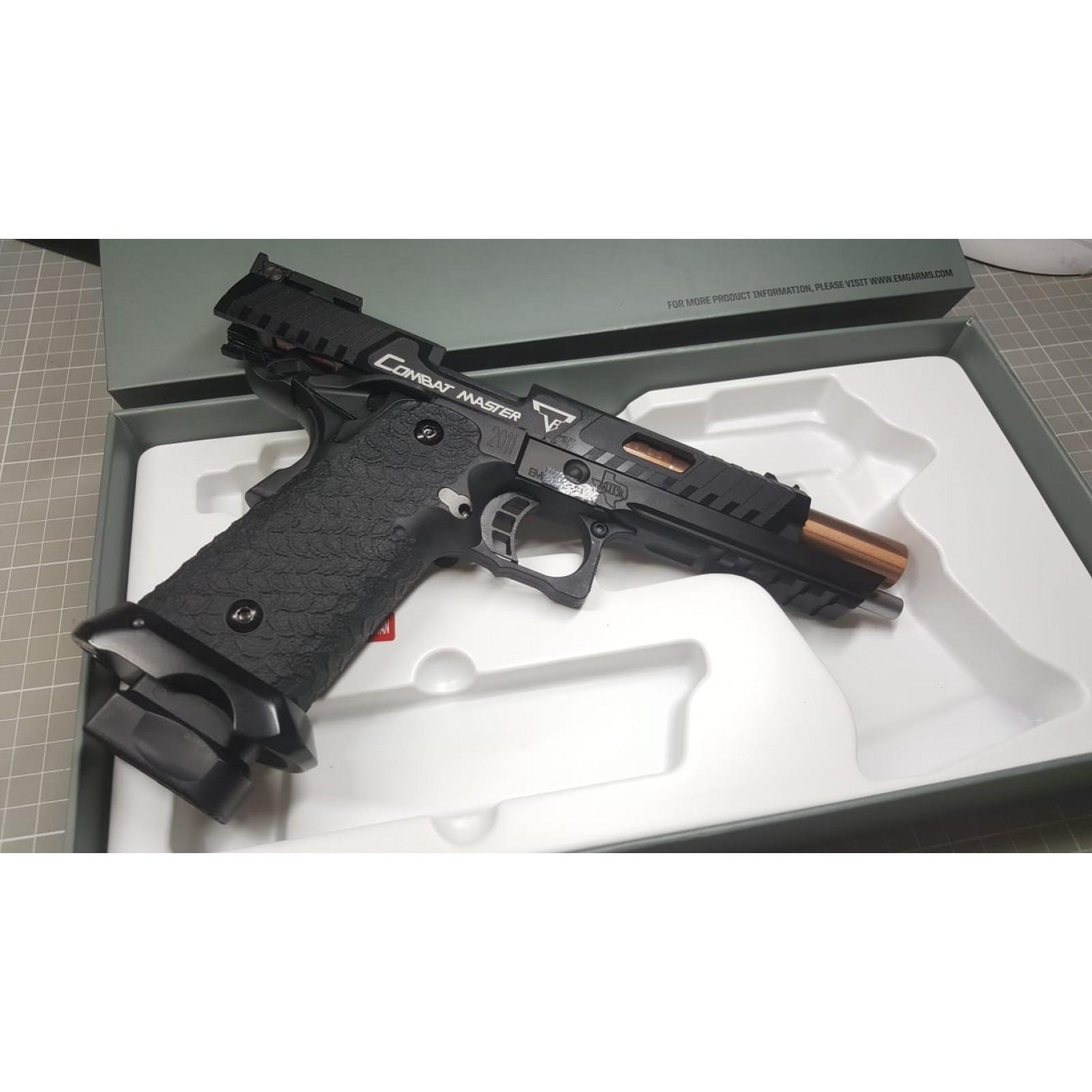 EMG STI TTI Combat Master 2011 GBB Pistol (4 wave shipment