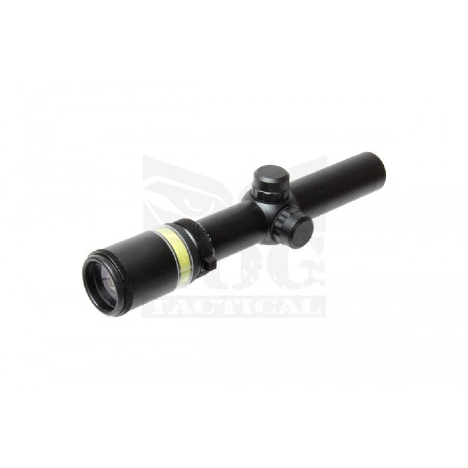 1.5-6x24 Fiber Optic Scope Green Triangle illuminated Telescopic Rifle Scope HOT