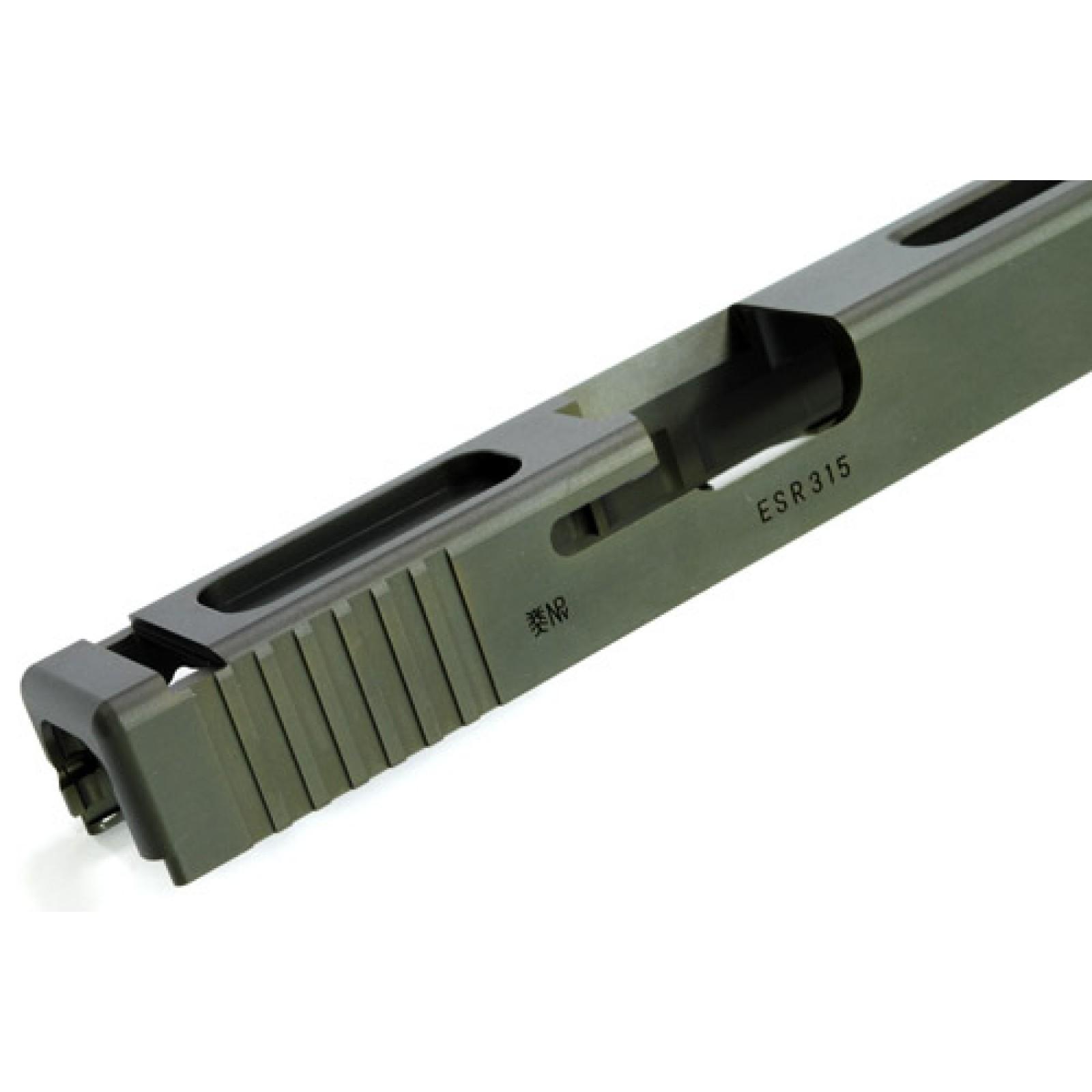 7075 Aluminum CNC Slide for TM GLOCK-18C (OD)