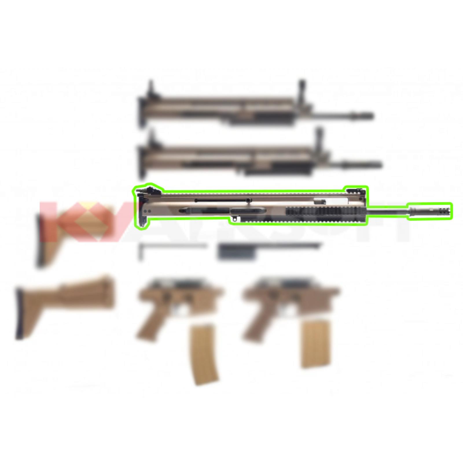 WE-Tech [SCAR SSR AEG] upper conversion kit (For SCAR -H