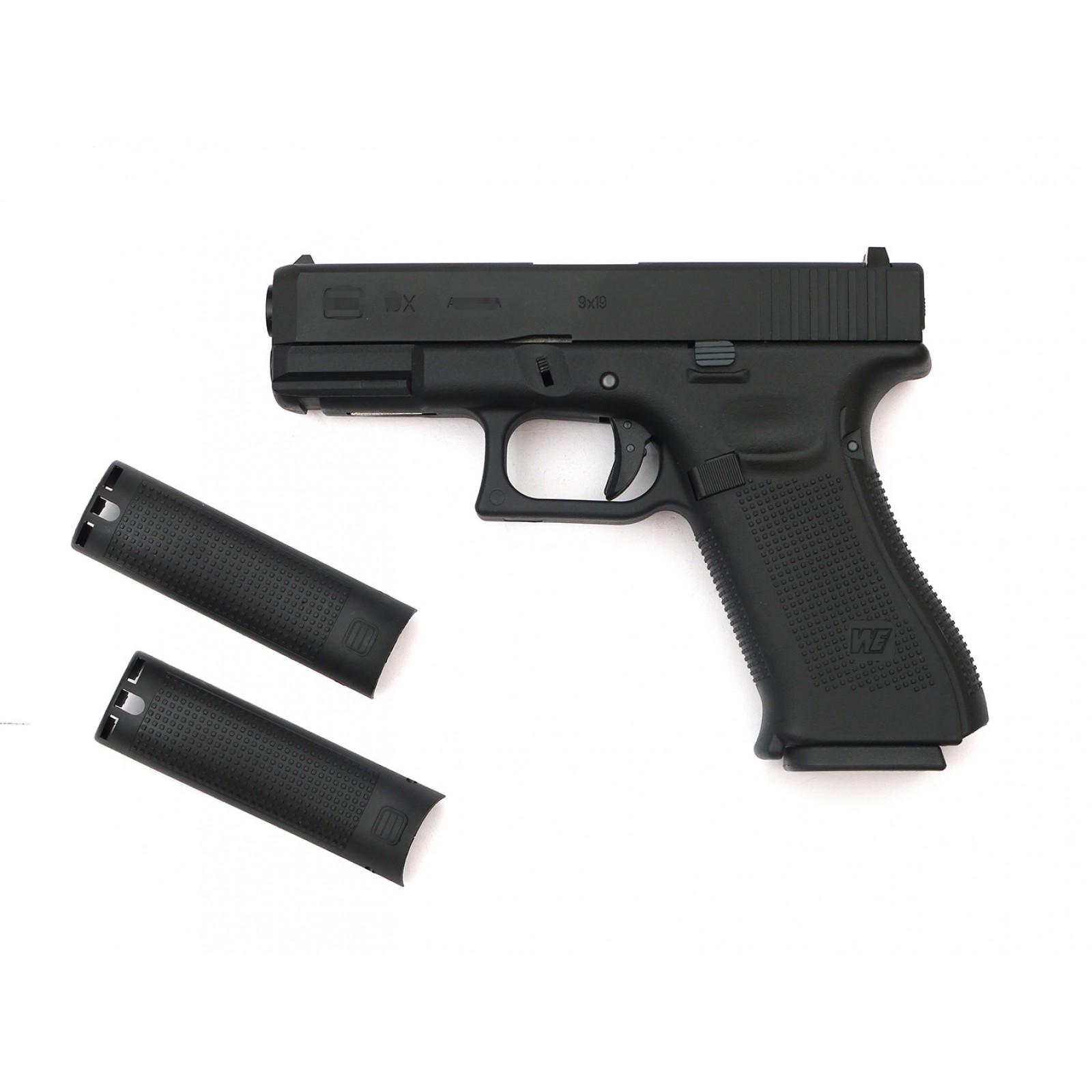 WE G19XL GBB pistol BK (Custom CNC marking) - CUSTOM WORK