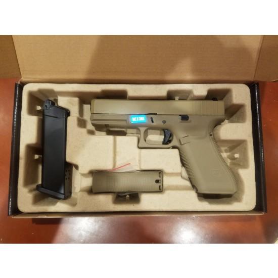 WE G17 GEN5 GBB Pistol TAN
