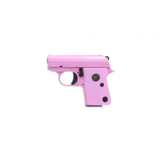 WE CT25 GBB Pistol PINK(No marking)