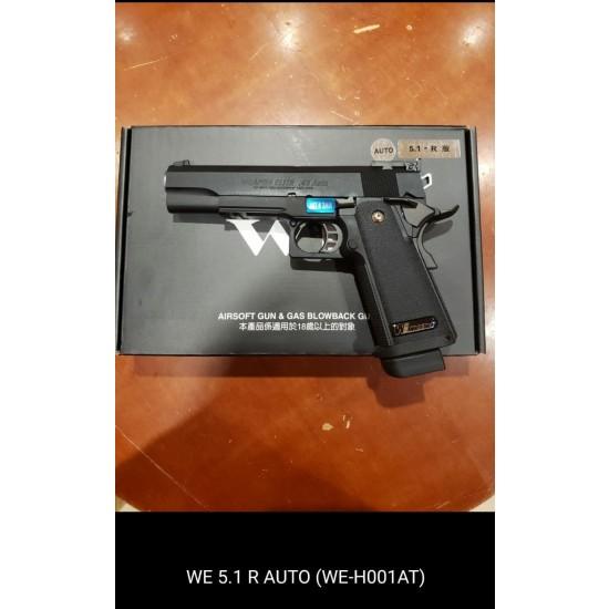 WE HI-capa 5.1 R GBB Pistol (Full Auto version)