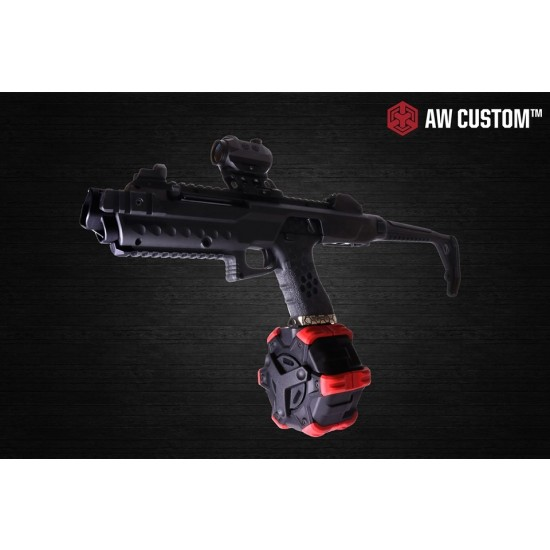 AW Custom VX Tactical Carbine bundle (with Drum mag)