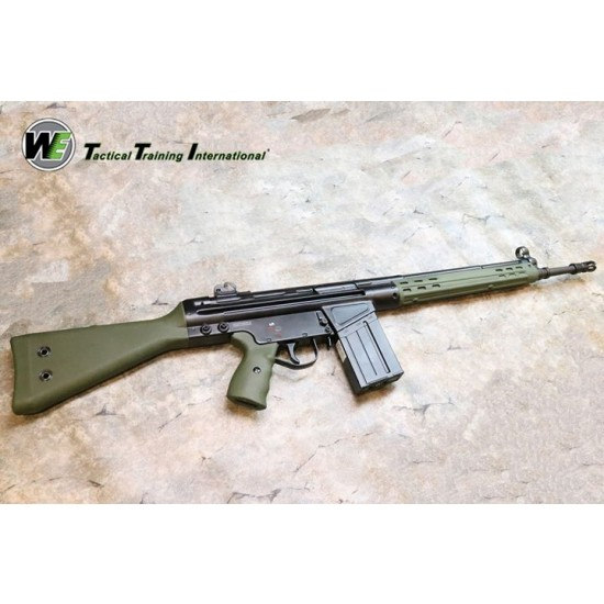 WE H&K G3A3 GBB rifle (licensed - airsoft toy)