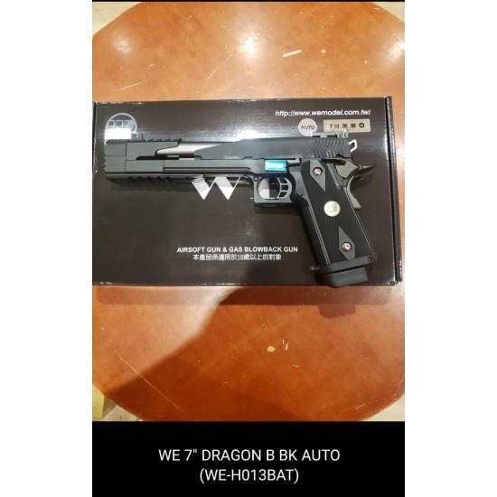 "WE HI-capa 7""  Dragon B Black GBB Pistol (Full Auto version)"