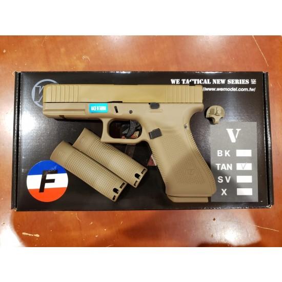 WE G17F Gen 5 GBB pistol(TAN/TAN)