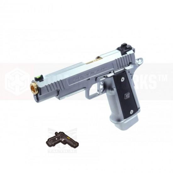 (Free Patch!!!) EMG SAI 2011 DS PISTOL (4.3/ Aluminum / Silver)