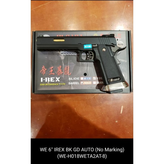 "WE 6"" IREX BK Gold(Full Auto version)"