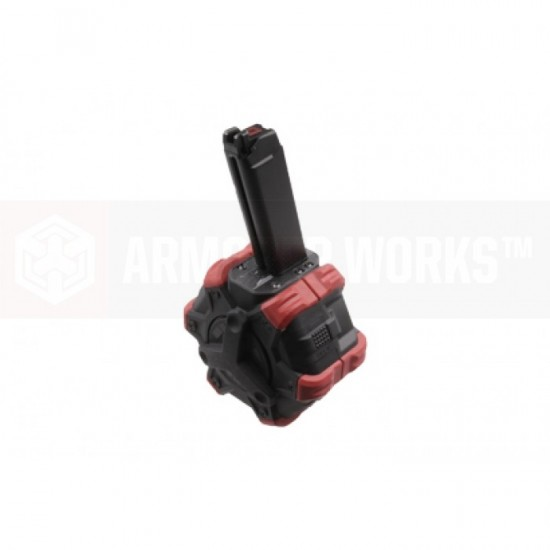 AW Customs - ADAPTIVE 300RDS DRUM MAGAZINE - (G-Series) VX SERIES
