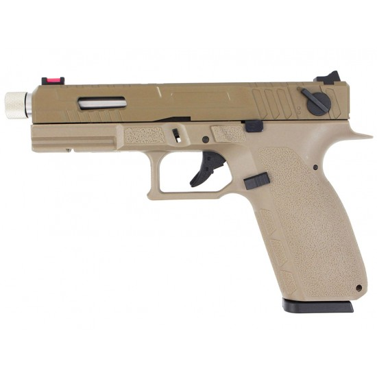 KJ Works KP-13F TBC GBB Pistol (TAN)