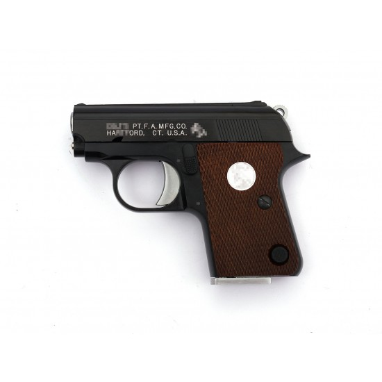 WE CT25 GBB Pistol JUNIOR 1908 .25 ACP Black (Horse white marking)