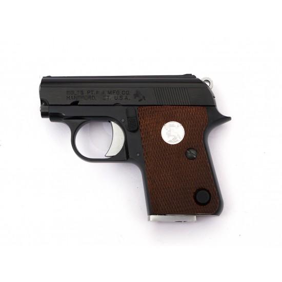 WE CT25 GBB Pistol JUNIOR 1908 .25 ACP Black (Horse marking)
