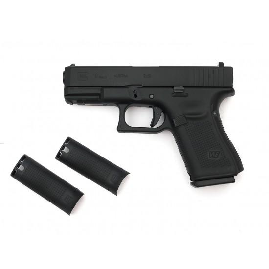 WE G19 GEN5 GBB pistol BK (CUSTOM CNC MARKING)