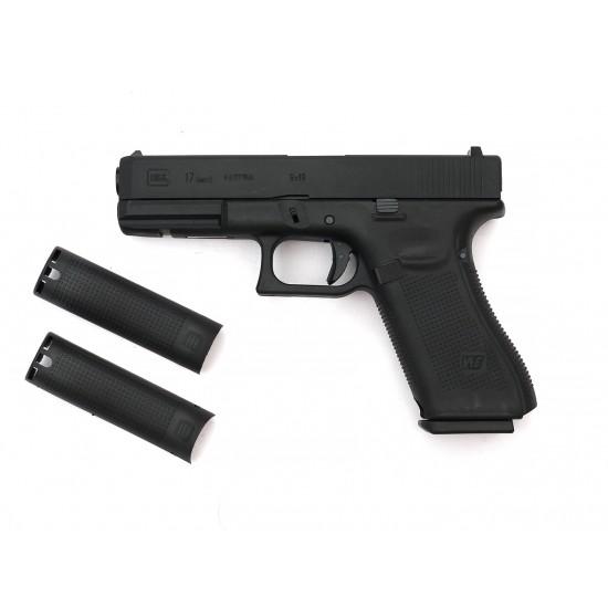 WE G17 GEN5 GBB pistol BK (CUSTOM CNC MARKING)