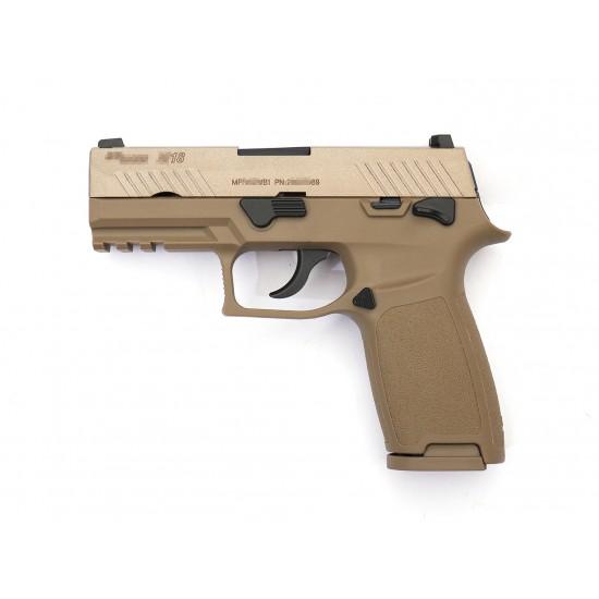 AEG F18 GBB Pistol Full marking (Tan)