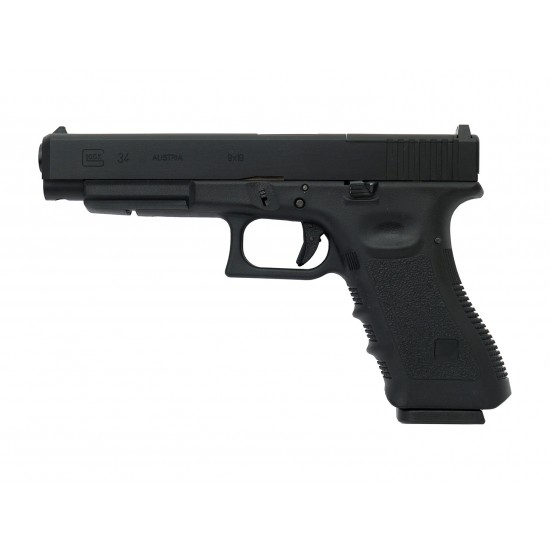 KY custom WE G34 Gen3 MOS GBB Pistol BK (Full Marking)