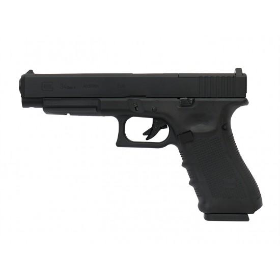 KY custom WE G34 Gen4 MOS GBB Pistol BK (Full Marking)