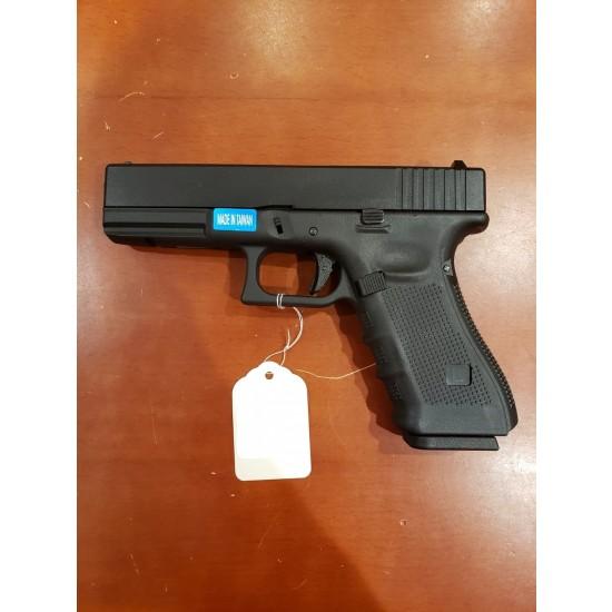 WE G17 GEN 4 GBB Pistol Black(All-Plain-Version)