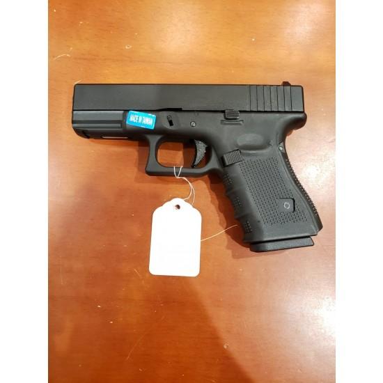 WE G19 GEN 4 GBB Pistol Black(All-Plain-Version)