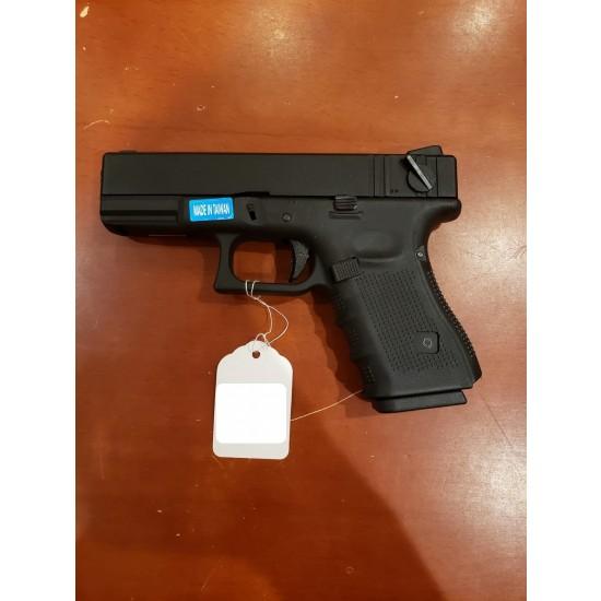 WE G23 GEN 4 GBB Pistol Black(All-Plain-Version)