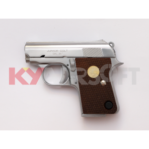 WE CT25 GBB pistol (Silver, JUNIOR 25 Marking)