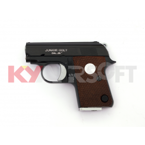 WE CT25 GBB pistol (Black, JUNIOR 25 white marking)