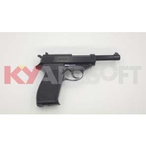 WE P38 Black Classic Pistol (Full marking, AC 42 )