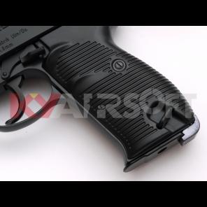 WE P38 Black Classic Pistol (Full marking, CIV)