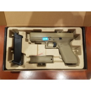 WE G17 GEN5 GBB Pistol TAN
