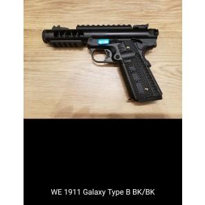 WE 1911 GALAXY Type B  BK SLIDE / BK FRAME
