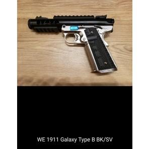 WE 1911 GALAXY Type B BK SLIDE / SV FRAME