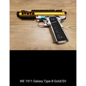 WE 1911 GALAXY Type B GOLD SLIDE / SV FRAME