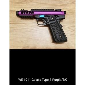 WE 1911 GALAXY Type B  PURPLE SLIDE / BK FRAME