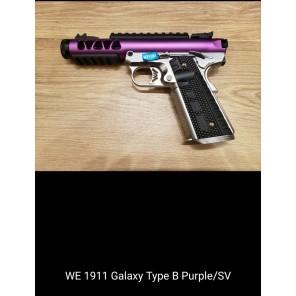WE 1911 GALAXY Type B PURPLE SLIDE / SV FRAME
