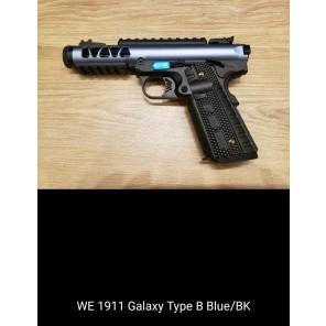 WE 1911 GALAXY Type B  BLUE SLIDE / BK FRAME