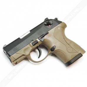 WE Tech Bulldog Compact GBB Pistol Tan (2 magazine Version)