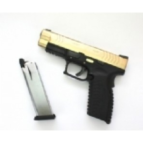 WE X4.0 GBB Pistol TITANIUM GOLD