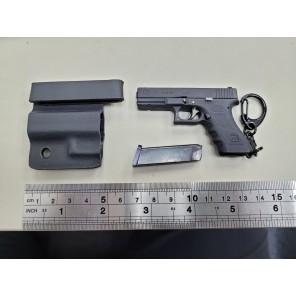 Mini Keychain G17 Dummy w/ Kydex Holster ( Black )