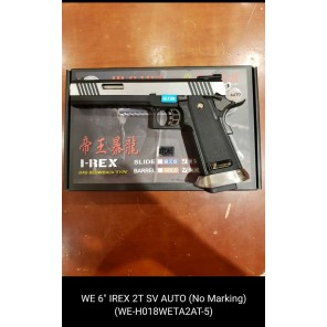 "WE 6"" IREX 2T Silver (Full Auto version)"