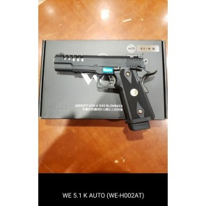 WE HI-capa 5.1 K GBB Pistol (Full Auto version)