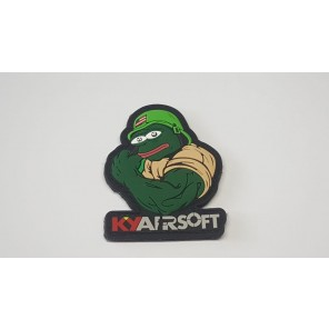 KY airsoft Mr Frog PVC Patch (Ver.1)