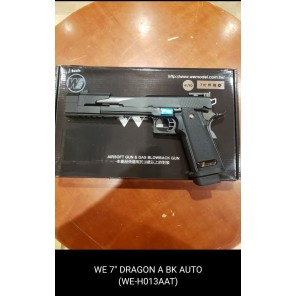 "WE HI-capa 7""  Dragon A Black GBB Pistol (Full Auto version)"