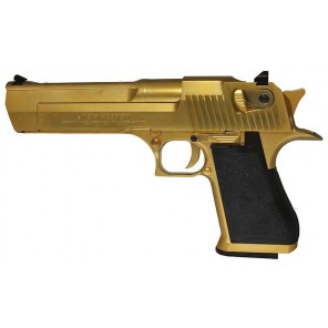 CYBERGUN LICENSED DESERT EAGLE .50 GBB PISTOL (Gold)