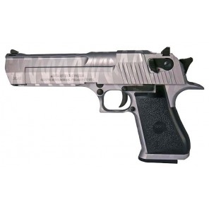 CYBERGUN LICENSED DESERT EAGLE .50 GBB PISTOL (Tiger stripe Silver)
