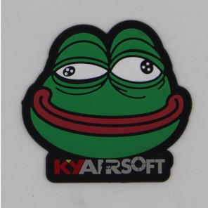 KY airsoft Mr Frog PVC Velco Patch (Ver.2)