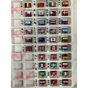 (Add-on) WE G-series Slide End-plate National flag